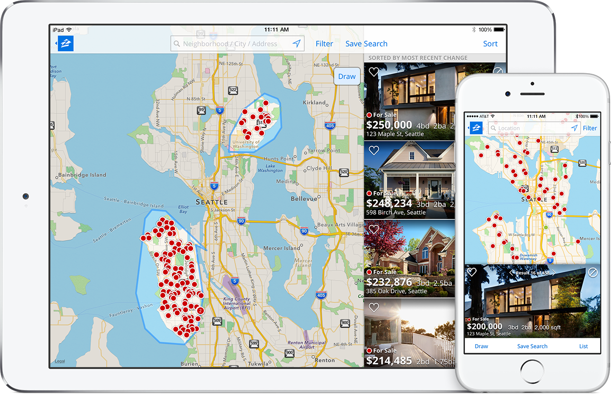 zillow mobile app