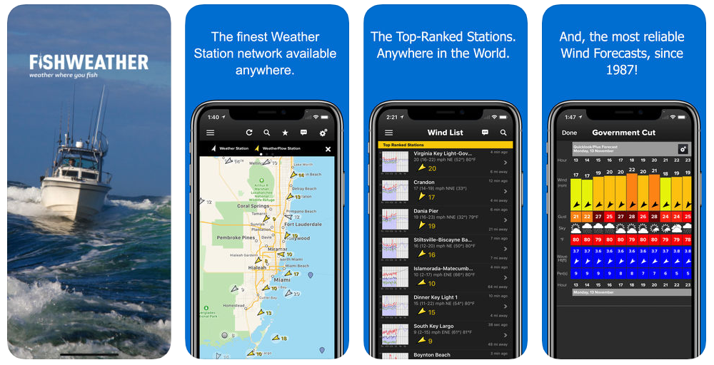 fishweather mobile app