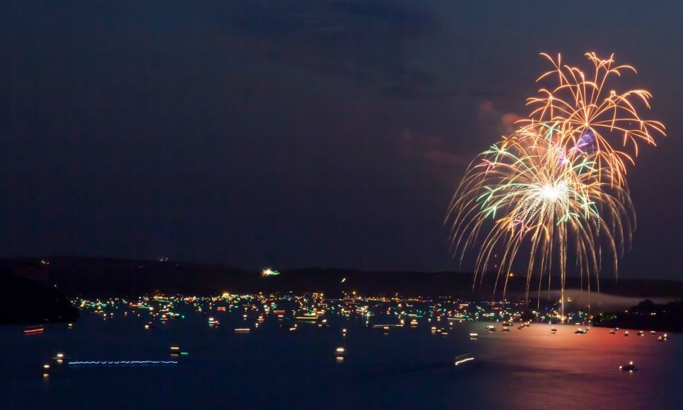lake of the ozarks fireworks labor day weekend