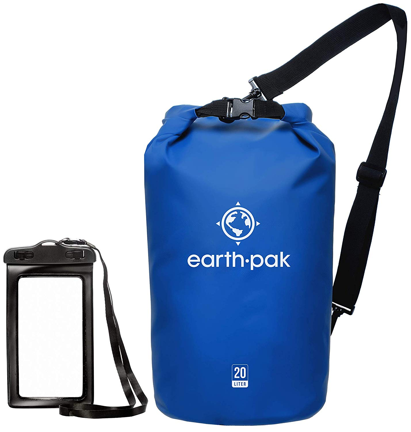 earth pak waterpoof dry bag with phone case christmas gift for boaters