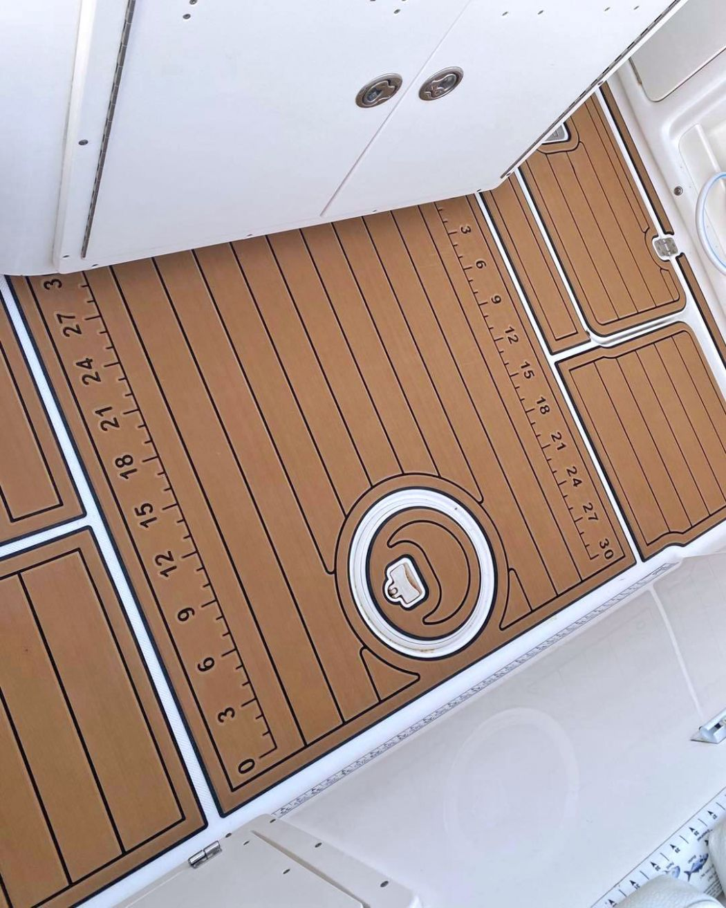 Century Center Console SeaDek Installation