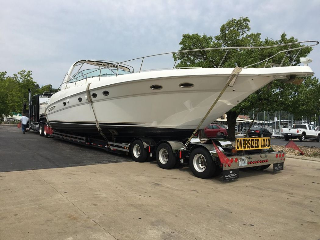 Sea Ray 460 Transport To LOTO | Project Photos