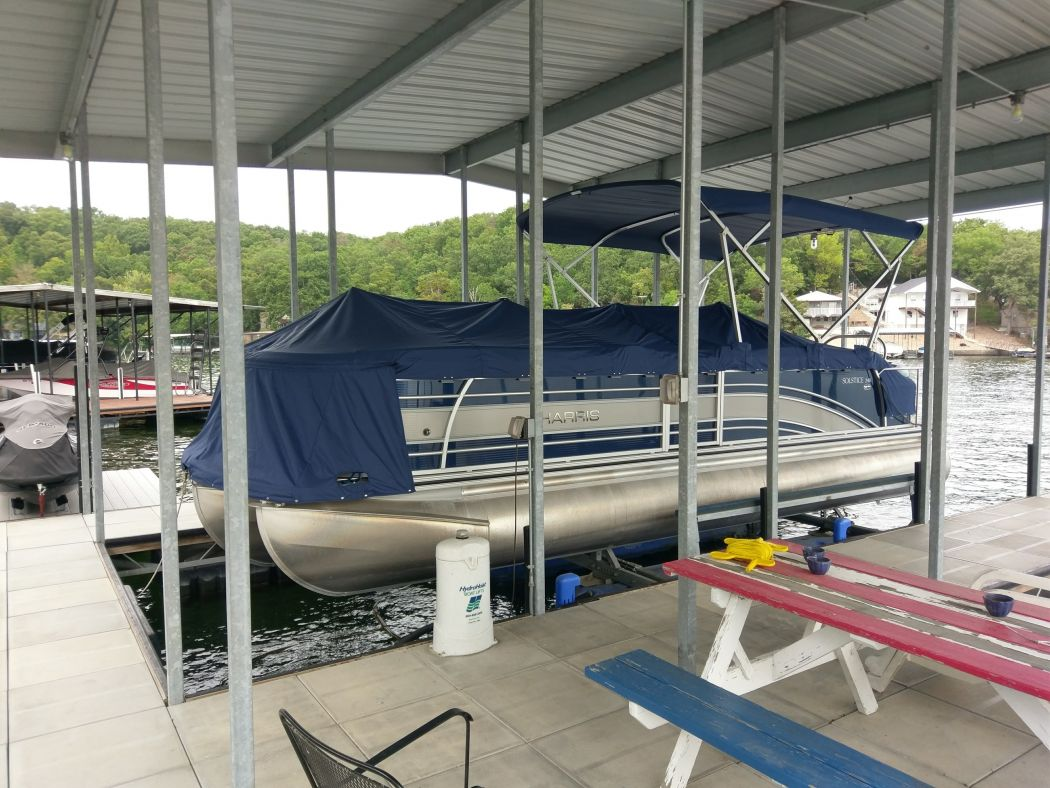 Pontoon Snap Covers