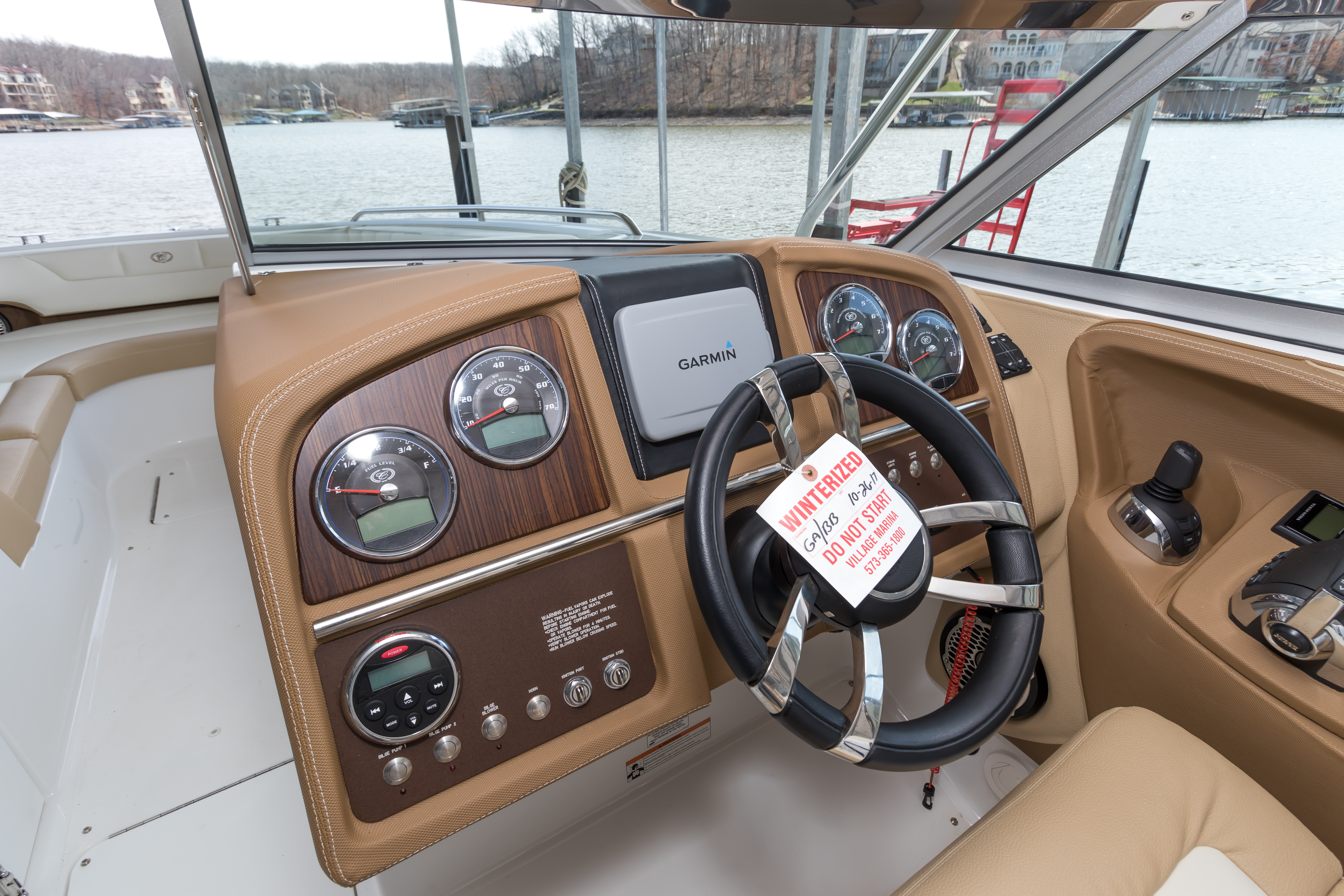 winterized boat tag
