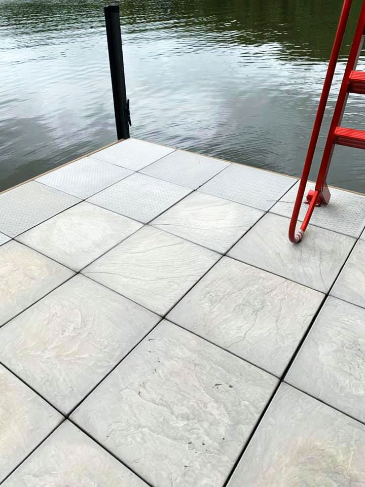 Concrete Tiles for Dock Flooring