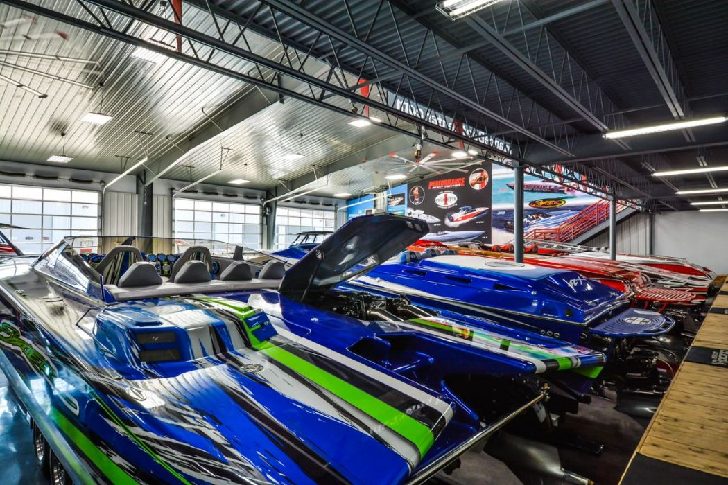 Performance Boat Center Showroom